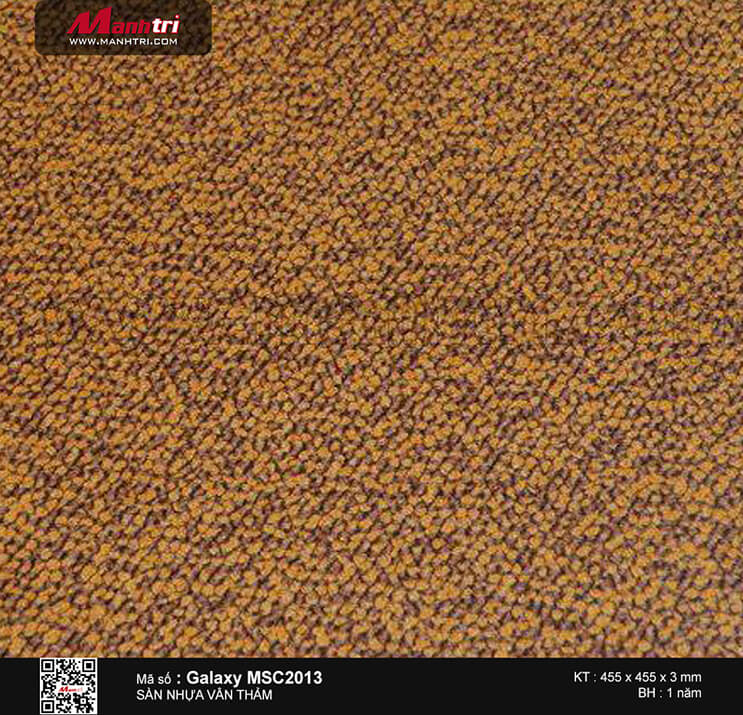 Sàn nhựa vân thảm Galaxy MSC 2013