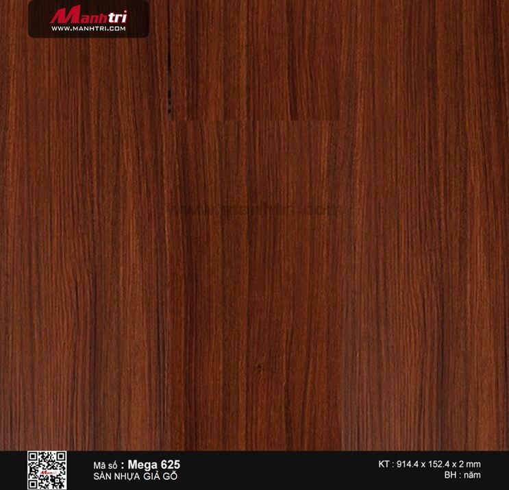 Sàn nhựa giả gỗ Mega 625