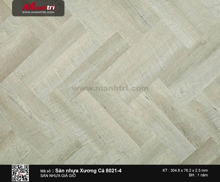 Sàn nhựa xương cá 8021-4