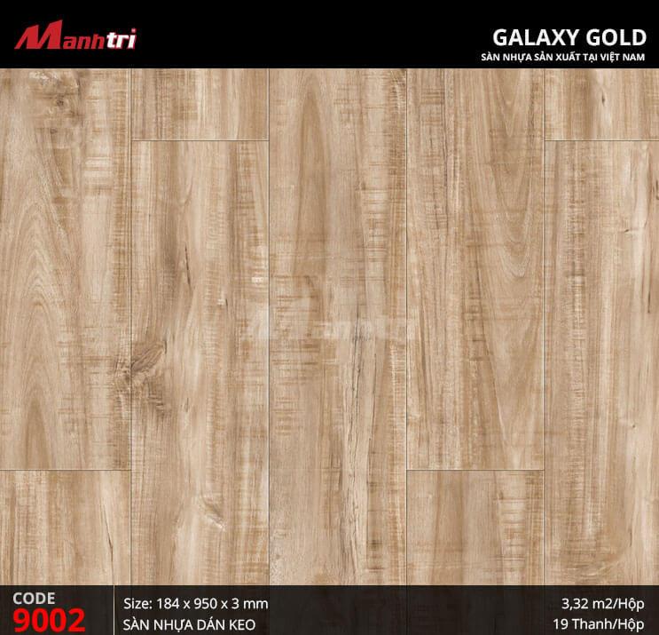 Sàn nhựa giả gỗ Galaxy Gold 9002