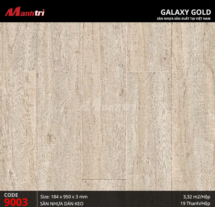 Sàn nhựa giả gỗ Galaxy Gold 9003