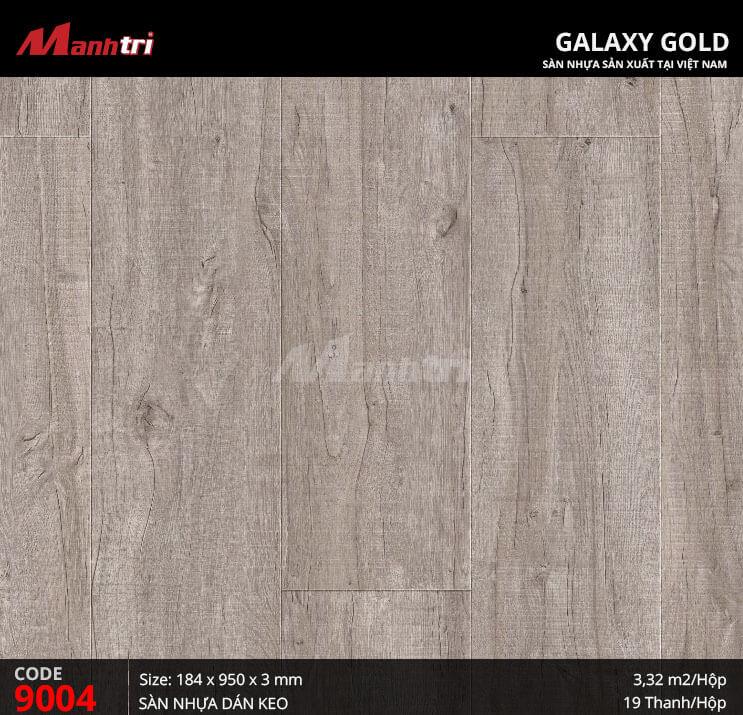 Sàn nhựa giả gỗ Galaxy Gold 9004