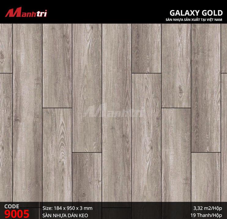 Sàn nhựa giả gỗ Galaxy Gold 9005