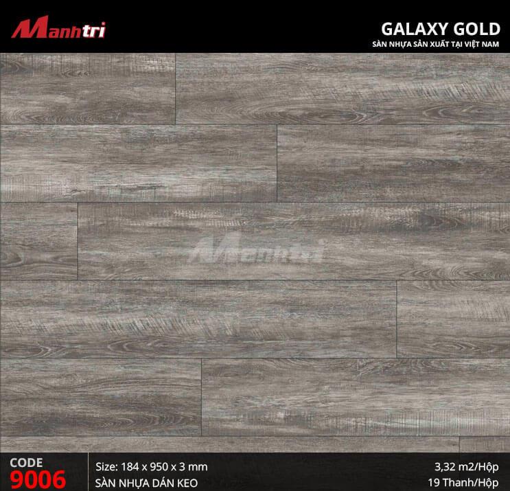 Sàn nhựa giả gỗ Galaxy Gold 9006