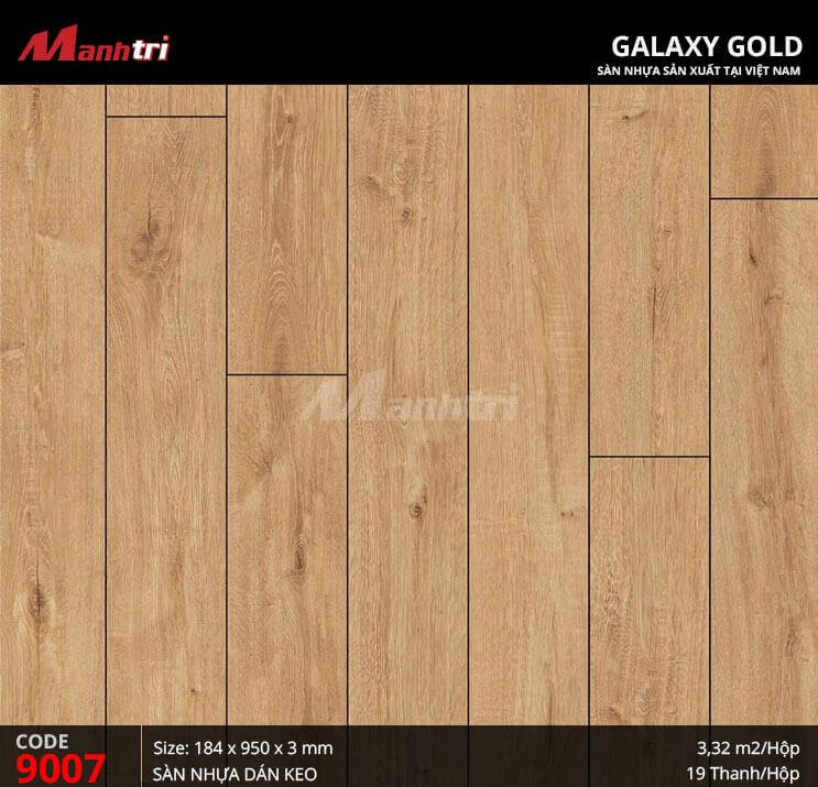 Sàn nhựa giả gỗ Galaxy Gold 9007