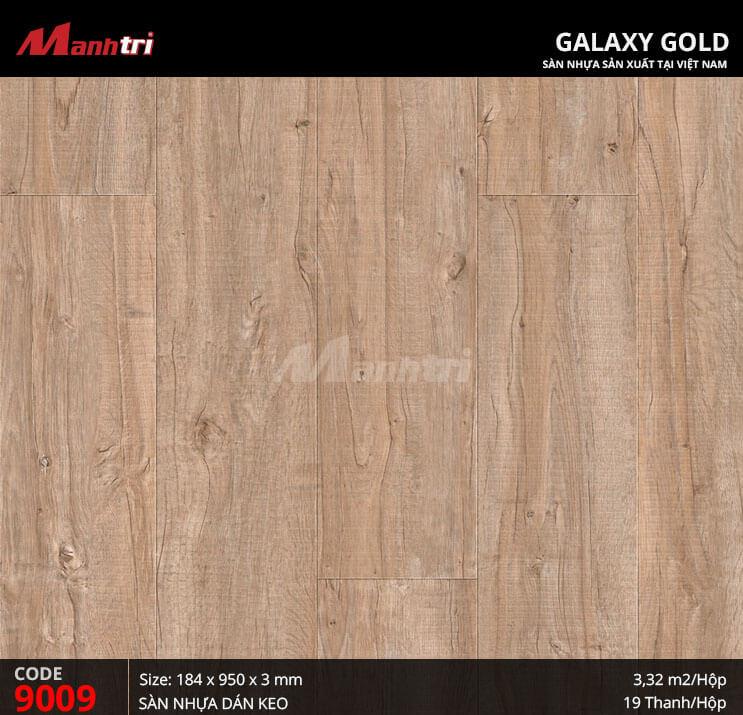 Sàn nhựa giả gỗ Galaxy Gold 9009