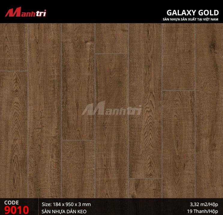 Sàn nhựa giả gỗ Galaxy Gold 9010