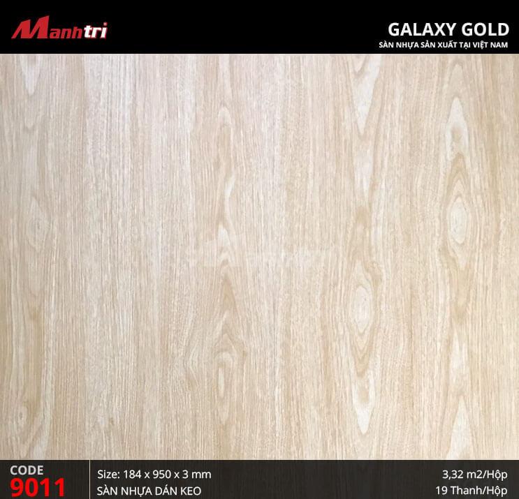 Sàn nhựa giả gỗ Galaxy Gold 9011