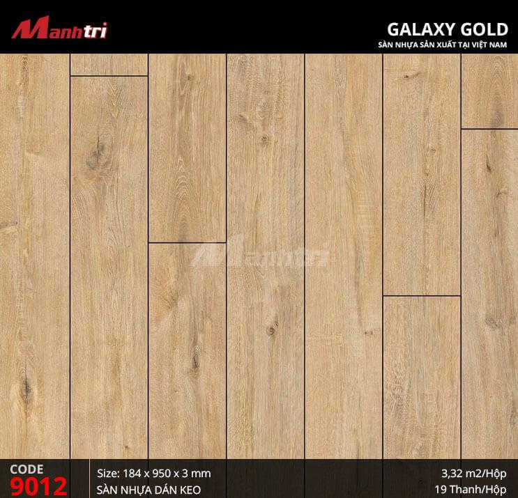Sàn nhựa giả gỗ Galaxy Gold 9012