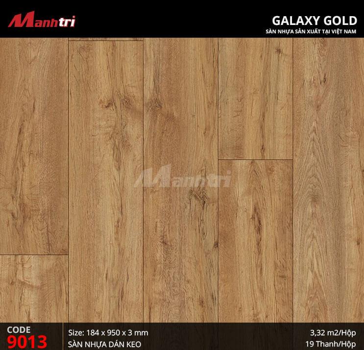 Sàn nhựa giả gỗ Galaxy Gold 9013