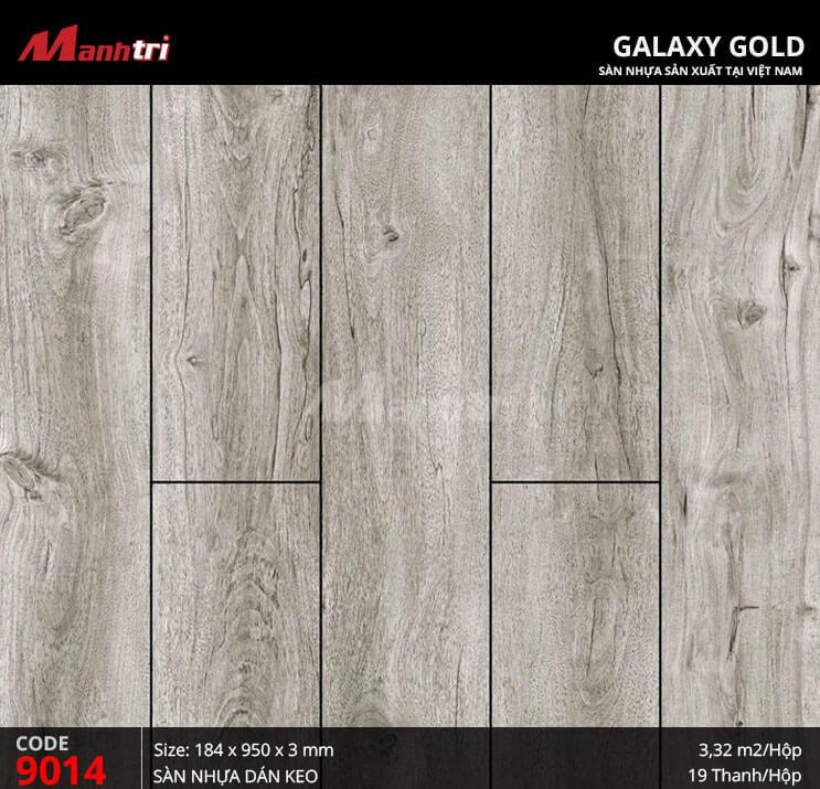 Sàn nhựa giả gỗ Galaxy Gold 9014