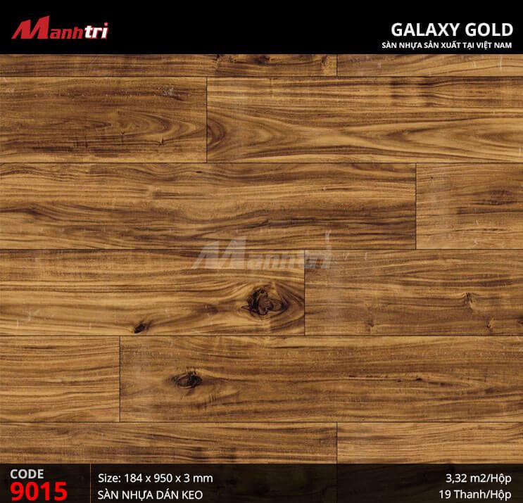 Sàn nhựa giả gỗ Galaxy Gold 9015
