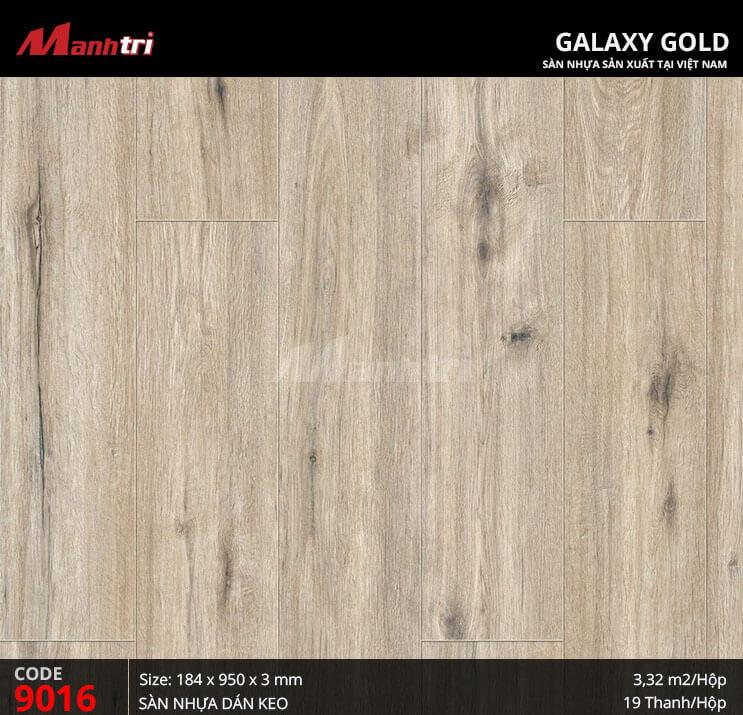 Sàn nhựa giả gỗ Galaxy Gold 9016