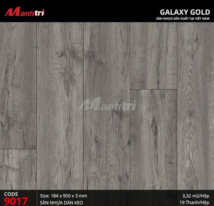 Sàn nhựa giả gỗ Galaxy Gold 9017