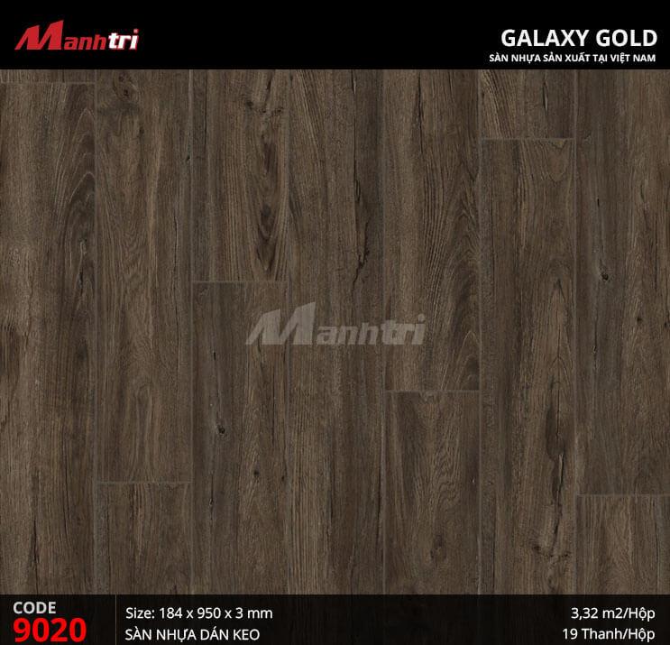 Sàn nhựa giả gỗ Galaxy Gold 9020