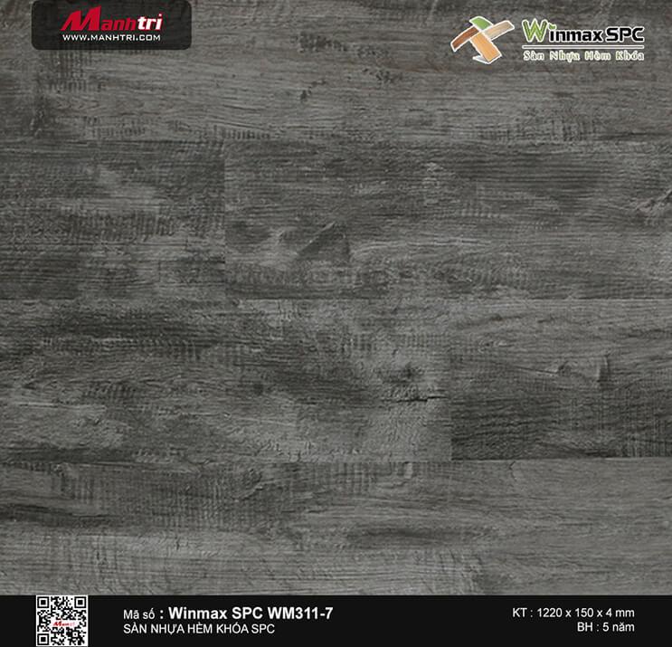 Sàn nhựa hèm khóa Winmax SPC WM311-7