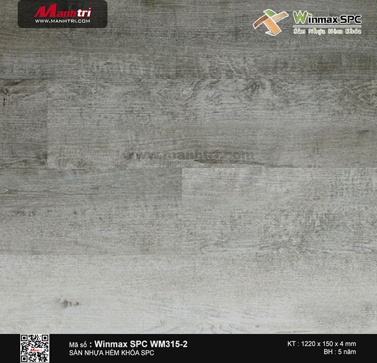Sàn nhựa hèm khóa Winmax SPC WM315-2