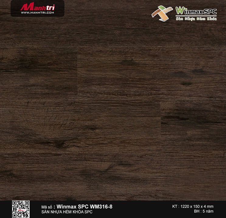 Sàn nhựa hèm khóa Winmax SPC WM316-8