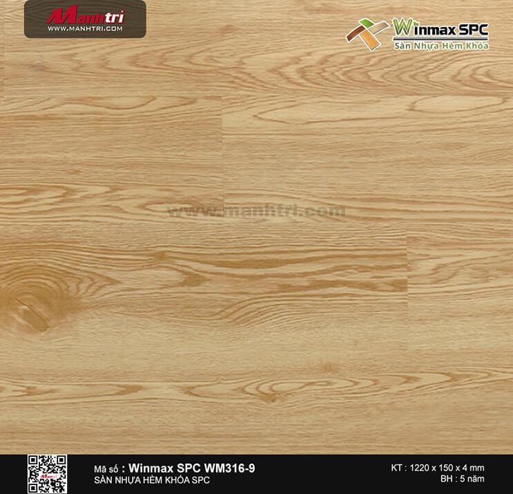 Sàn nhựa Winmax SPC WM316-9