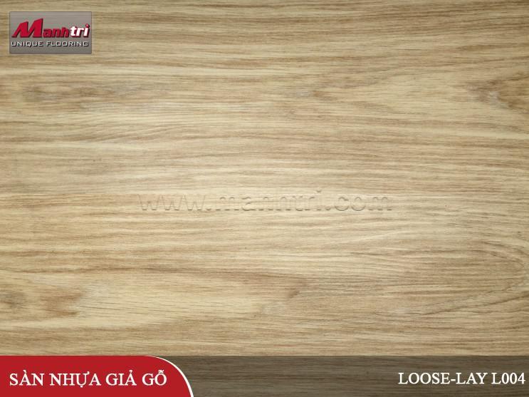 Sàn nhựa giả gỗ Loose-Lay L004