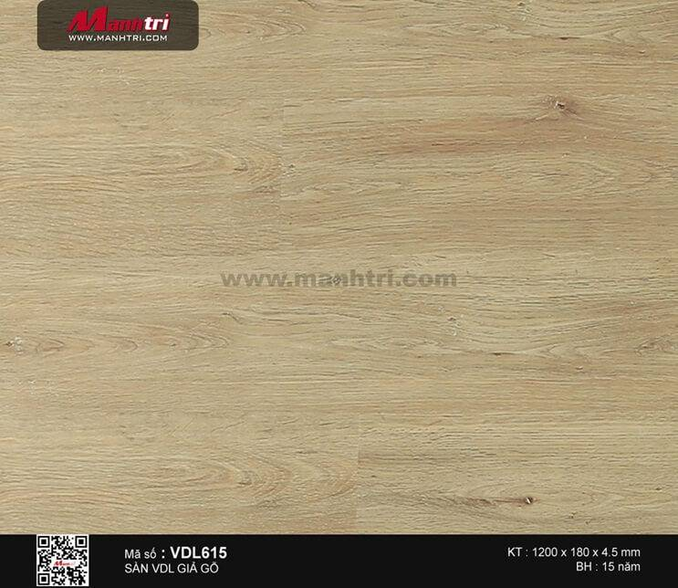 Sàn nhựa giả gỗ Smartwood VDL615