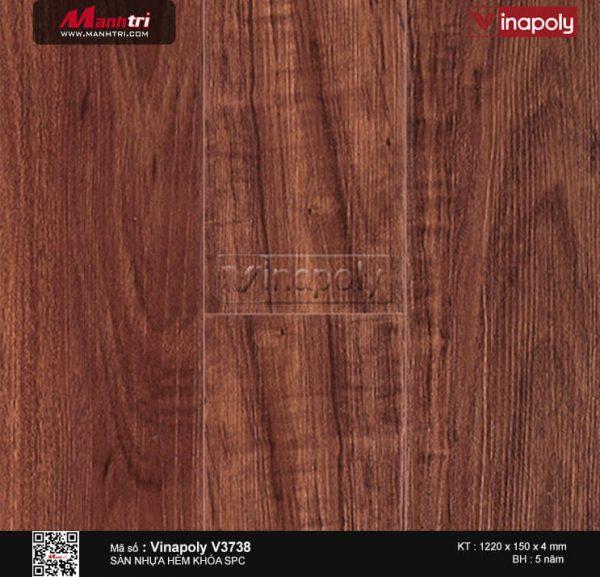 Sàn nhựa Vinapoly SPC V3738