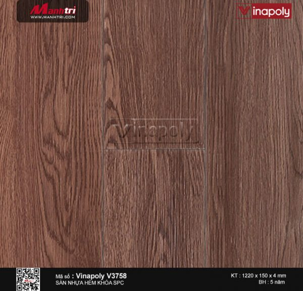 Sàn nhựa Vinapoly SPC V3758