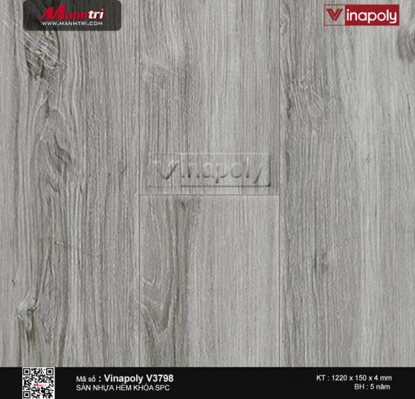 Sàn nhựa Vinapoly SPC V3798