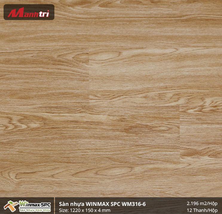 Sàn nhựa Winmax SPC WM316-6