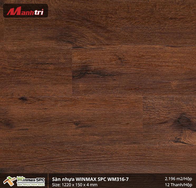 Sàn nhựa Winmax SPC WM316-7