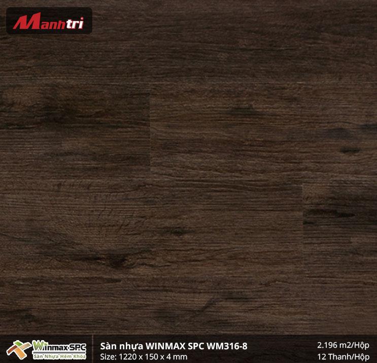 Sàn nhựa Winmax SPC WM316-8