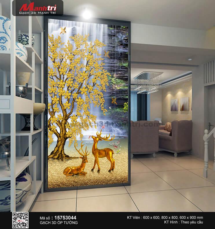 Bất ngờ với ý nghĩa các loài vật trong bức tranh gạch 3D (Phần 1)
