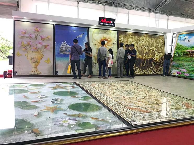 Mạnh Trí tham gia Triển lãm quốc tế VIETBUILD 2018 tại TP.HCM